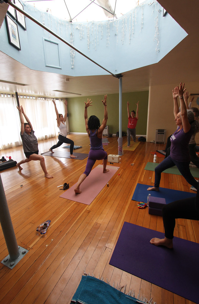 Sweet Leaf Yoga, a medical Cannabis yoga practice in Oakland, California