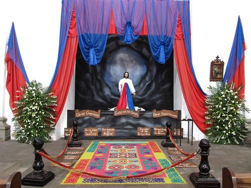 Antigua: Iglesia de La Merced et son tapis de sable