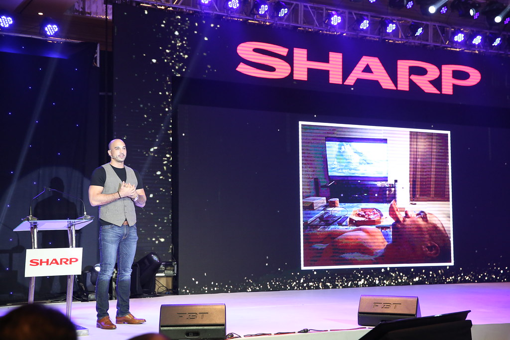 SHARP AQUOS XU SERIES: 8K IS NOW