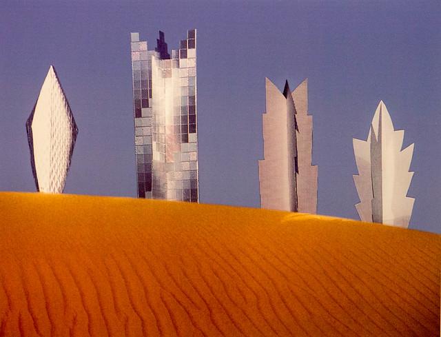 Foto Sahara-Projekt, 1968, Heinz Mack