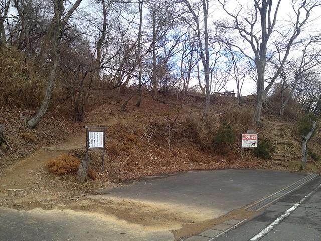 池田山 登山道