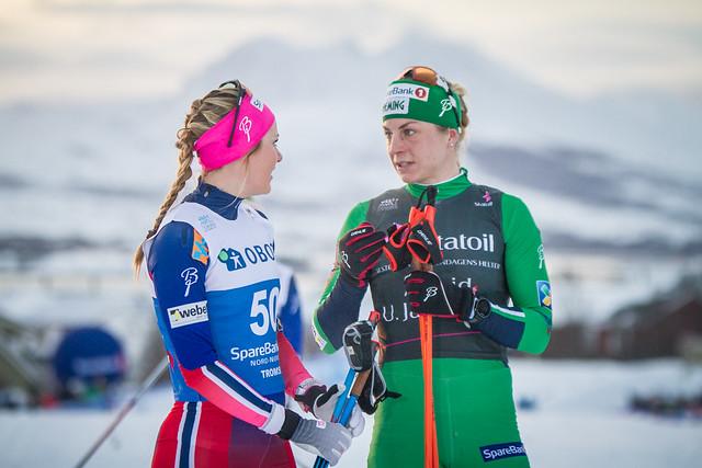 Martine Ek Hagen og Astrid Uhrenholdt Jacobsen