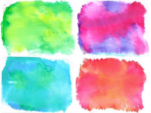 Watercolour backgrounds