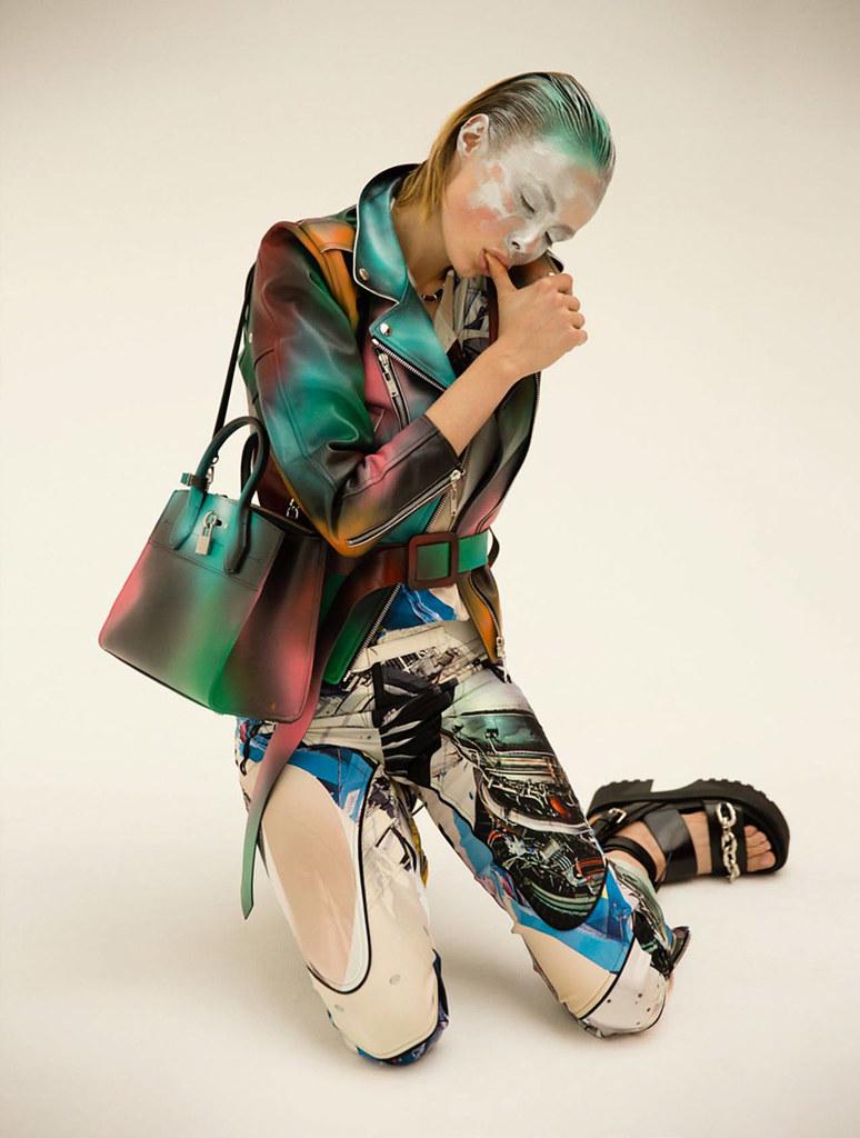 Эди Кэмпбелл — Фотосессия для «Vogue» FR 2016 – 4