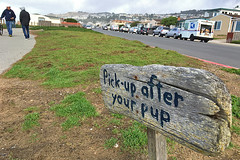 Pacifica Pier - Esplanade Ave Pick up after your pup