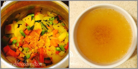 Sambar Sadam Recipe for Babies, Toddlers and Kids - step 5