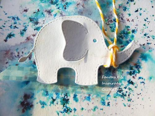 Der kleine Elefant gratuliert