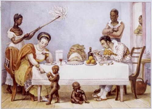 O Jantar, de Jean-Baptiste Debret