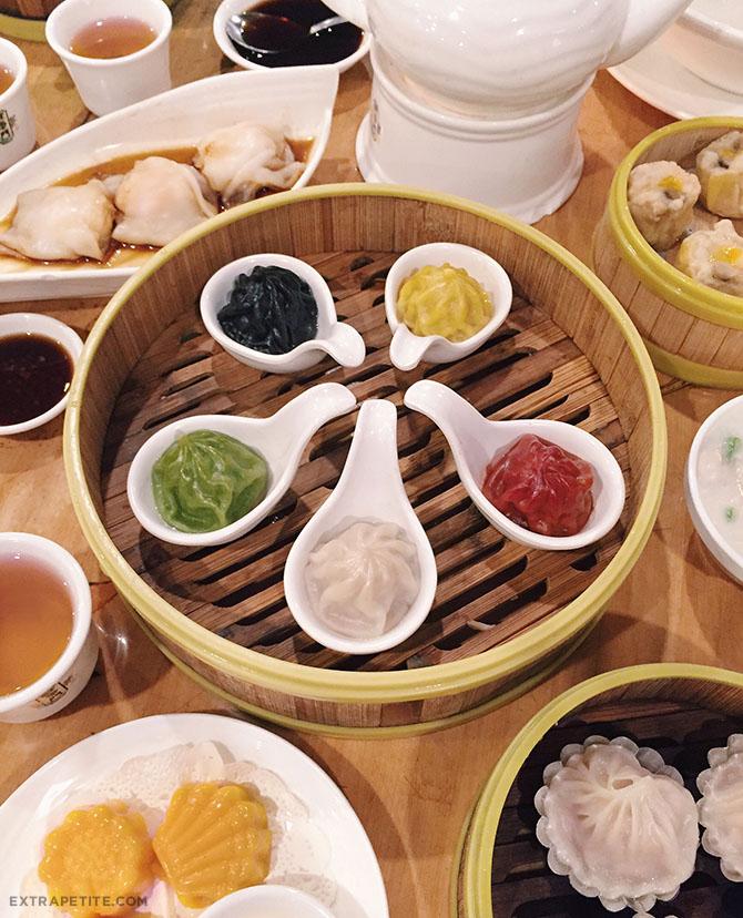 koi palace dim sum soup dumplings colorful san francisco