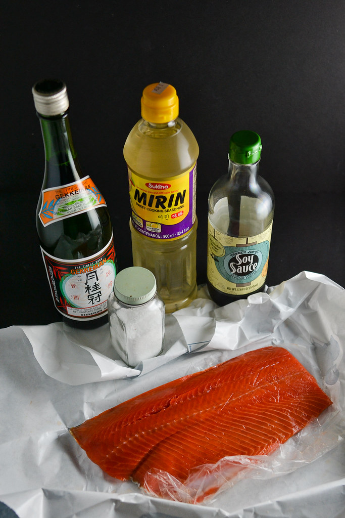 Salmon with Homemade Teriyaki Sauce | Things I Made Today