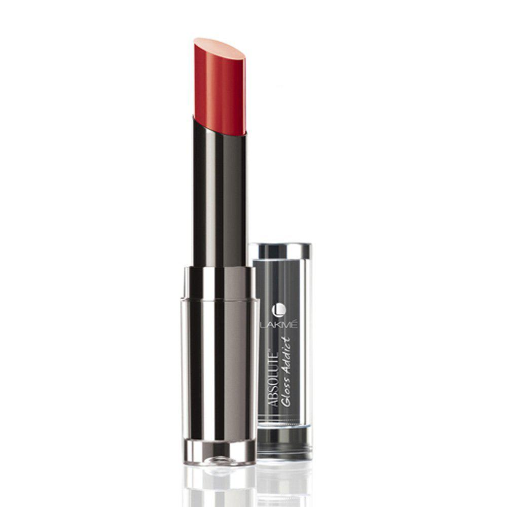Lakme Lipstick shade with price - Lakme Absolute Gloss Addict Lip Colour