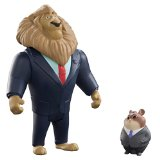 Pack 2 figuras de Mayor Lionheart & Lemming Businessman