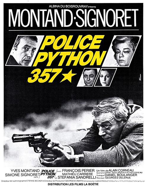 Police Python 357 - Poster 1