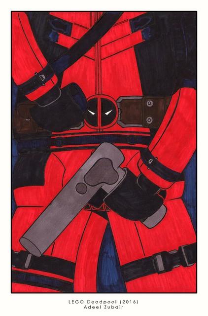 LEGO Deadpool 2016 - Poster
