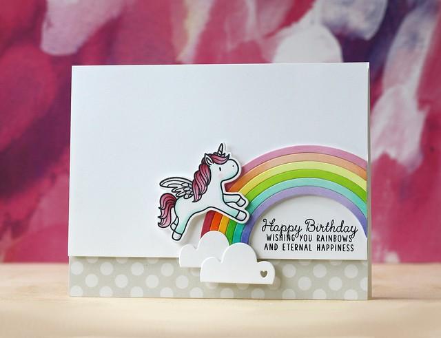 Mama Elephant-Unicorns & Rainbows