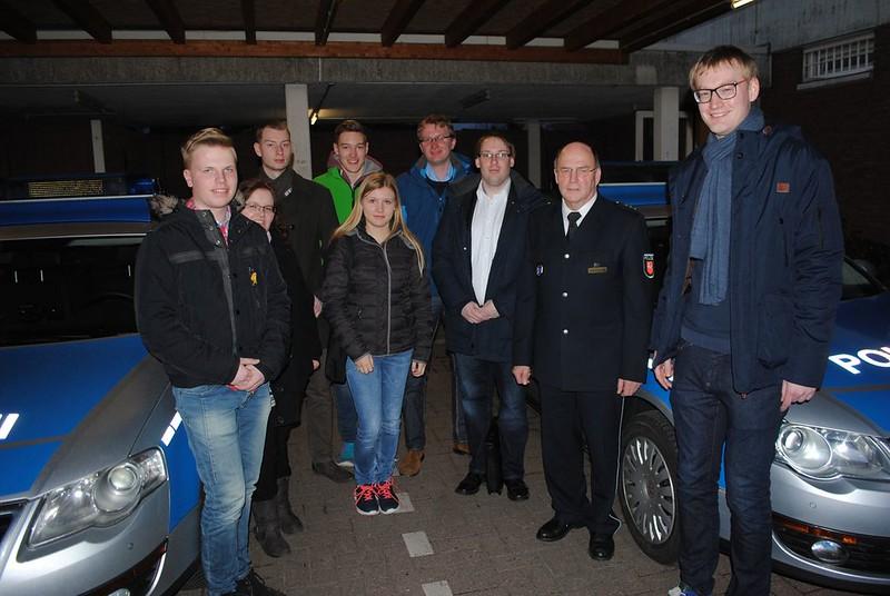 JU Diepholz meet's Polizei