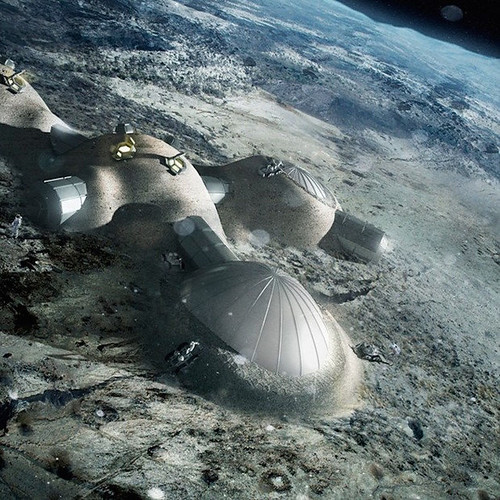 Base lunar propuesta por la ESA