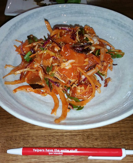 2016-Mar-9 Kosoo - sweet and spicy assorted sashimi salad