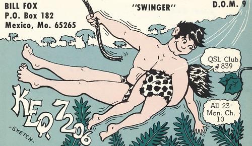 vintage missouri jungle qsl cb cbradio qslcard miracleqsl