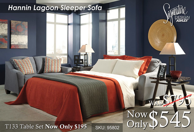 Hannin Lagoon Sleeper Sofa