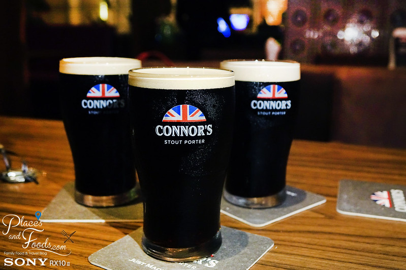 connors stout porter a night guest pints