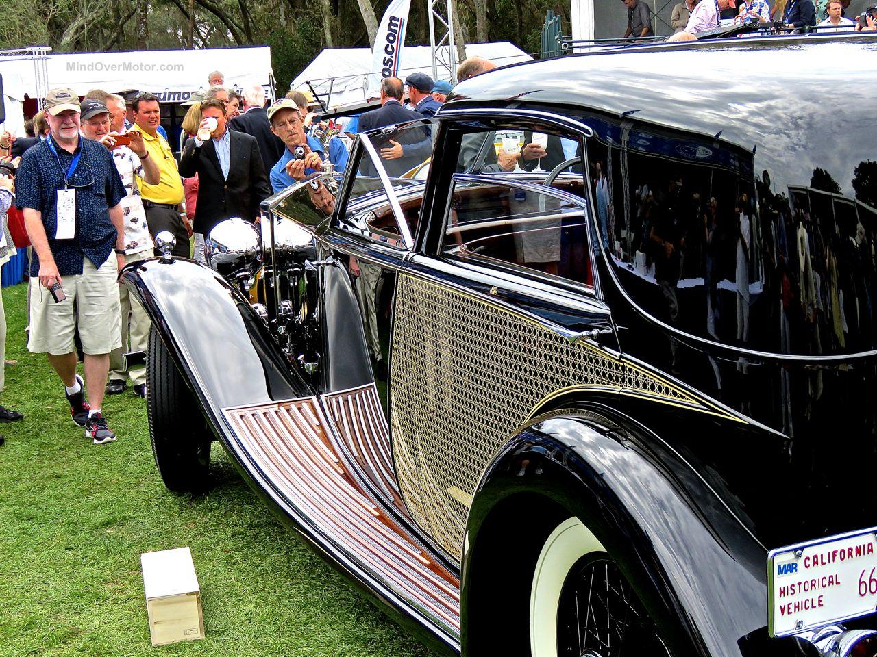 Amelia Island Concours Rolls-Royce Phantom II Town Car