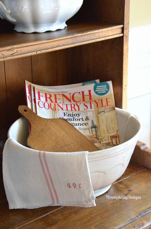 Ironstone bowl - Housepitality Designs