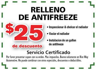 11- Span. Relleno De Antifreeze - Rite Way Spring AD11