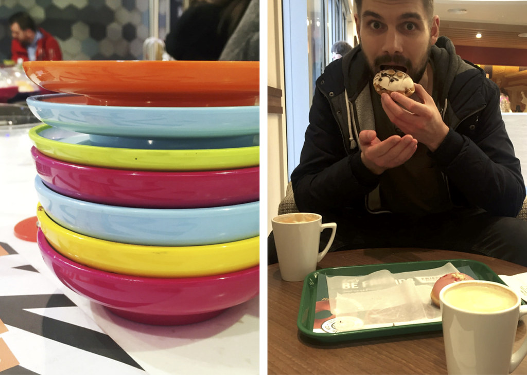 Yo Sushi and Krispy Kreme