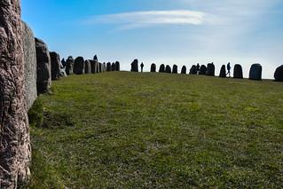 Image of Ales stenar. nature easter se skåne spring sweden outdoor stones sverige alesstenar vår österlen påsk kåseberga skånelän fornlämning