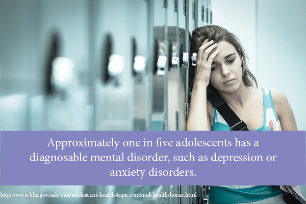 Approximately one in five adolescents has a diagnosable mental disorder thumbnail