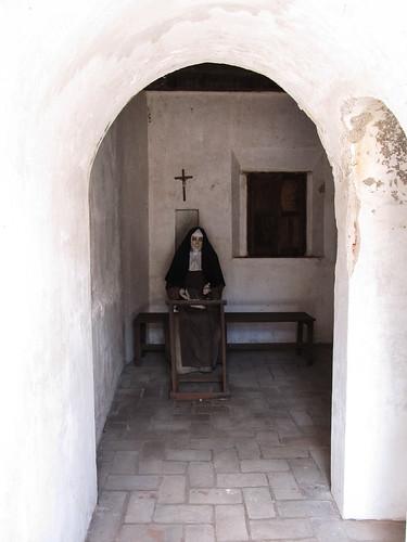 Antigua: une chambre reconstituée du Covento de la Capuchinas