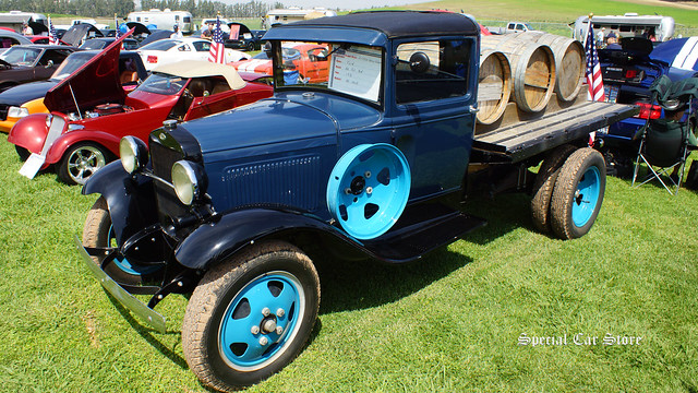 1931 Ford AA Flat Bed All Stock