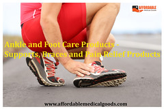 Ankle and Foot Care Products - Supports, Braces and Pain Relief Products