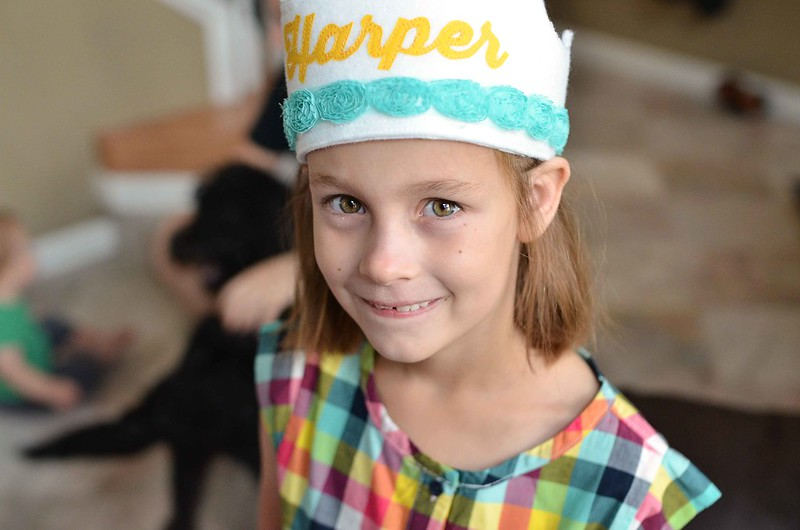 Harper turns 8