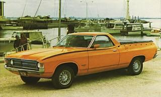 1972 Ford Falcon XA Utility (Australia)