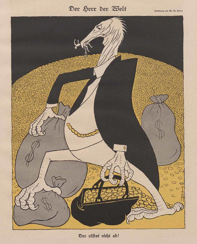 Thomas Theodor Heine - The Lord Of The World, 1924
