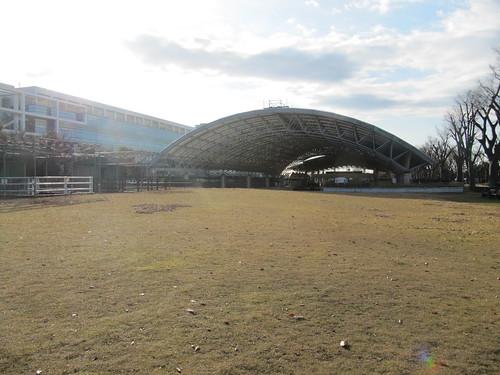 中山競馬場のけやき公苑