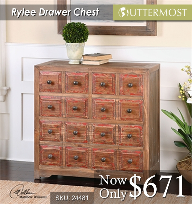 24481 -- Rylee Drawer Chest $671