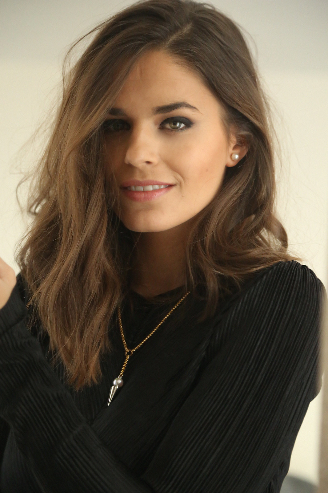 majorica joyas black long dress - jessie chanes 8