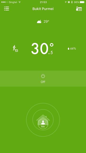 tado iOS App - At Home