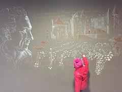 14.01.15 • inspiration...apprendre le dessin et les pensées de Montesquieu sur un mur #labrede #gironde #teamsudouest