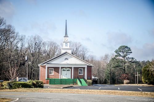 Cedar Grove Baptist Church and Cemetery-005