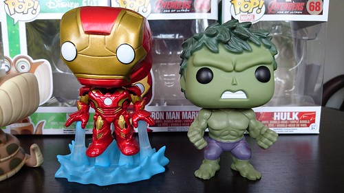 Hulk & Iron Man