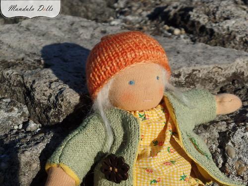 Anna 22cm fabric doll_1