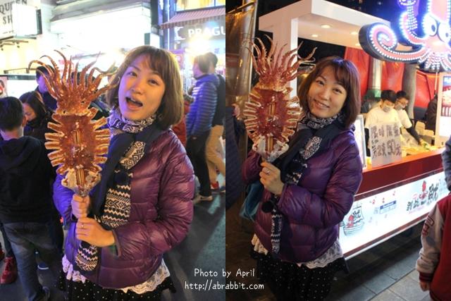 [台中]到此一魷--二訪比臉大的鐵板魷魚,攤子變得好可愛啊!@逢甲 西屯區