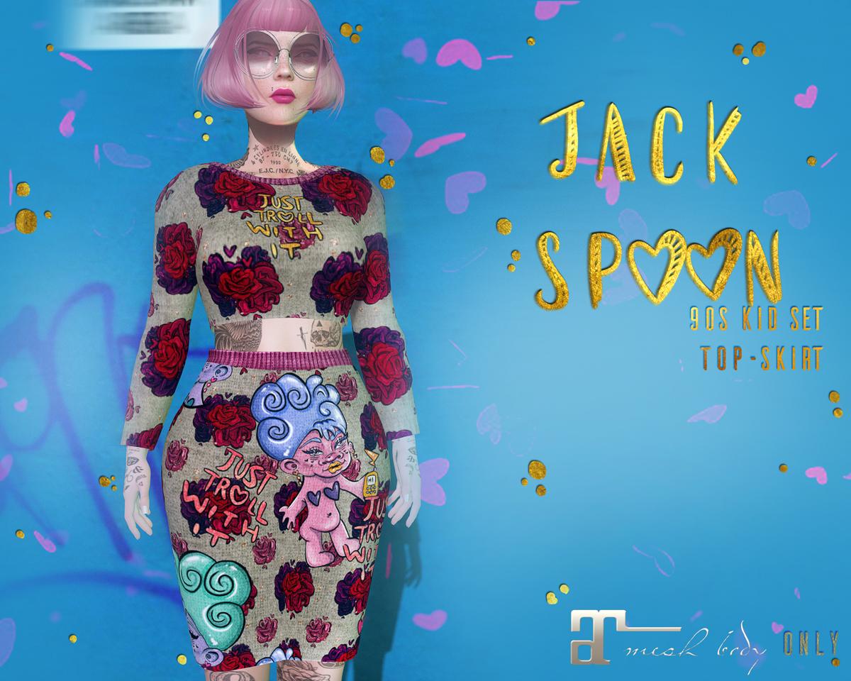 {JACK SPOON} 90s Kid Set