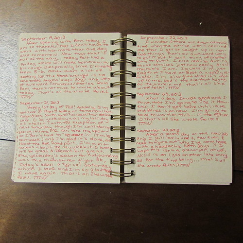 Journal Project February 23, 2013 - February 24, 2014
