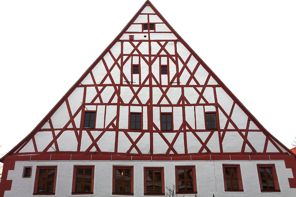 Half timbered house--Grimma