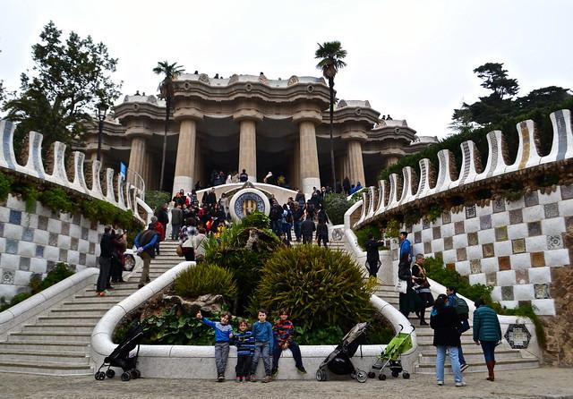 entrance Parc Güell